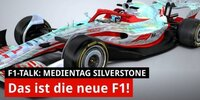 Formel-1-Auto 2022: So sieht's aus!