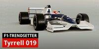 Formel-1-Legenden: Der Tyrrell 019 als Design-Trendsetter für hohe Nasen