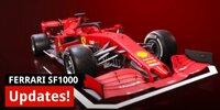 Formel-1-Technik: Die aktuellen Ferrari-Updates