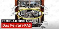Formel-1-Technik: Die Ferrari-Lenkung PAS