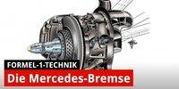Formel-1-Technik: Die Vorderradbremsen von Mercedes