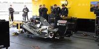 Formel-1-Test Rene Binder: Fire-up Renault V8