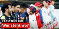 Formel-1-Vorschau 2020: Wer steht wo im Kräfteverhältnis?