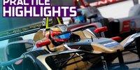 Formel E Berlin: Jean-Eric Vergne im Training vorn