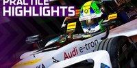 Formel-E-Training: Rauch & Nebel in Marokko