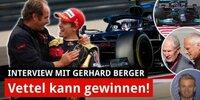 G. Berger: Vettel, Mateschitz & Rosbergs Rente!