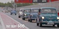 Geburtstagsfeier mit Rekord: 60 Jahre SEAT 600