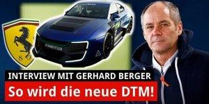 Gerhard Berger: Das ist meine Vision für die DTM!