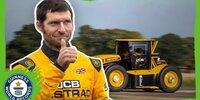 Guy Martin fährt 218 km/h - in einem Traktor!