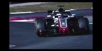 Haas: Formel-1-Teaser 2018
