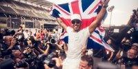 Hamilton: Emotionale Bilder nach dem Titelgewinn