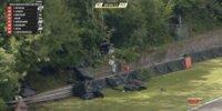 Heftiger McLaren-Unfall bei GTWC Brands Hatch