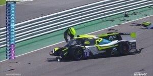 Heftiger Unfall beim ELMS-Saisonfinale