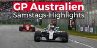Highlights: GP Australien, Melbourne, Samstag