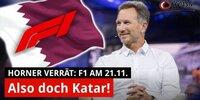 Horner verplappert sich: F1 macht Termin in Katar