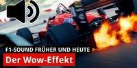 Im Vergleich: F1-Motorensound früher und heute