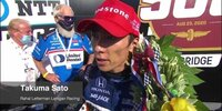 Indy 500: Takuma Sato im Interview