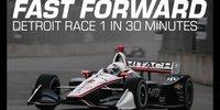 IndyCar Detroit: Rennen 1 in 25 Minuten