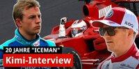 Interview: 20 Jahre Kimi Räikkönen in der Formel 1