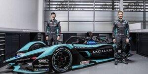 Jaguar vor dem Start in die Formel-E-WM 2021