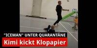 Kimi kickt Klopapier: So lustig ist's bei den Räikkönens!