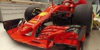 Launch Ferrari SF71H: So wurde das Auto beklebt