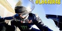 #LH44VR46: Onboard mit Hamilton auf der Yamaha