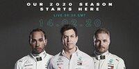 Livestream Mercedes-Präsentation Formel 1 2020