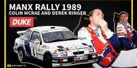 Manx-Rallye 1989: Colin McRae in Action
