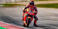 Marc Marquez: Privattest mit der Honda RC213V-S