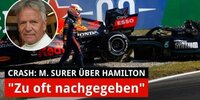 Marc Surer: Hat Lewis Hamilton zu oft nachgegeben?