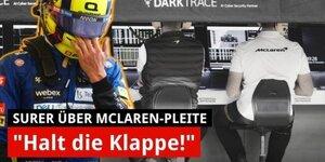 Marc Surer: So analysiert er McLarens Fehler