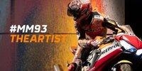Marquez wird auf der Honda CBR1000RR zum Künstler