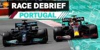 Mercedes-Debrief Portugal: Sensor- und Reifenprobleme