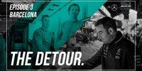 Mercedes in Barcelona: Europaauftakt Backstage
