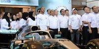 Mercedes-Meisterfeier in Malaysia