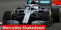 Mercedes W11: Shakedown in Silverstone
