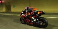 MotoGP-Fahrer rast durch Autobahntunnel