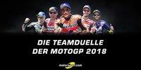 MotoGP-Teamkollegen 2018 im Vergleich