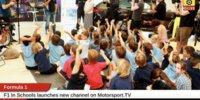 Motorsport.tv widmet F1 in der Schule Kanal