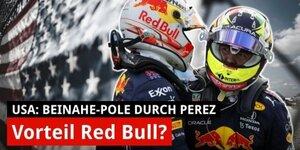 Mut gefehlt: So hat Perez die Pole verloren!