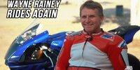 Nach 26 Jahren: Wayne Rainey fährt wieder!
