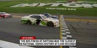 NASCAR Xfinity: Wahnsinns-Finish in Daytona