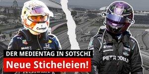 Neue Sticheleien zwischen Verstappen und Hamilton!