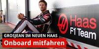 Onboard: Grosjeans erste Runde im neuen Haas VF-20