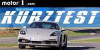 Porsche 718 Cayman GTS | Motor1 KURZTEST