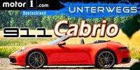 Porsche 911 (992) Cabrio im Test: Windige Kiste