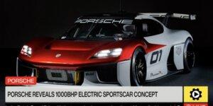 Porsche Mission R: Rennwagen mit 1.000 PS!