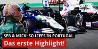 Portugal: So lief das Rennen für Vettel & Mick!