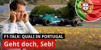 Quali Portugal: Ist Vettels Knoten jetzt geplatzt?